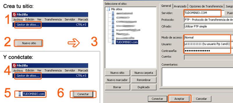 Cómo instalar WordPress paso a paso: Instala Filezilla y configura tu sitio en el servidor FTP