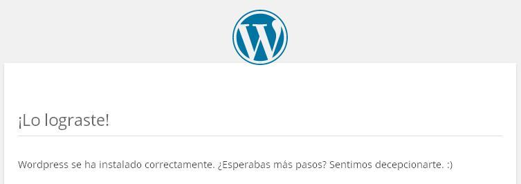 Cómo instalar WordPress paso a paso: Por fin lo has conseguido