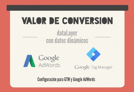 Tag Manager y Google Adwords: valor dinámico de conversión