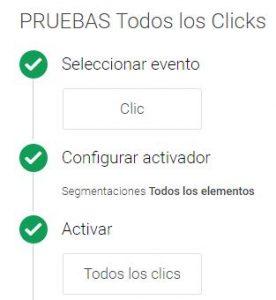 Tag Manager Click trigger