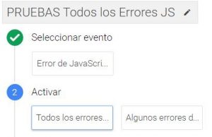 Ttag Manager Javascript Error trigger