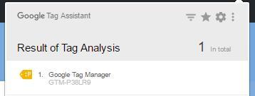 error-tag-manager-sin-publicar