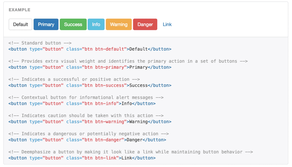 Bootstrap CSS Classes Tag Manager
