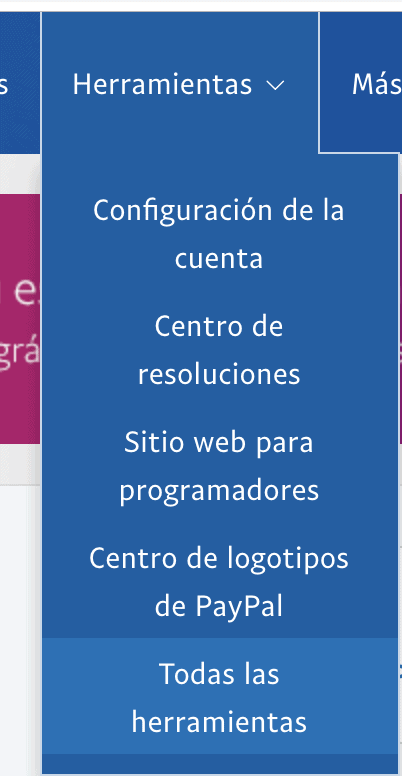 paypal-menu-herramientas