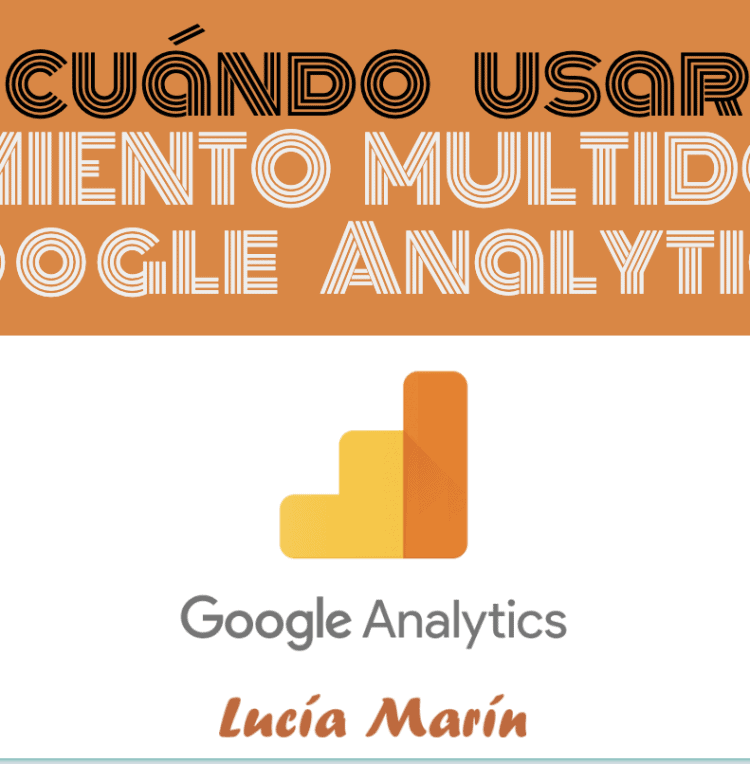 Cuándo usar multidominio Google Analytics